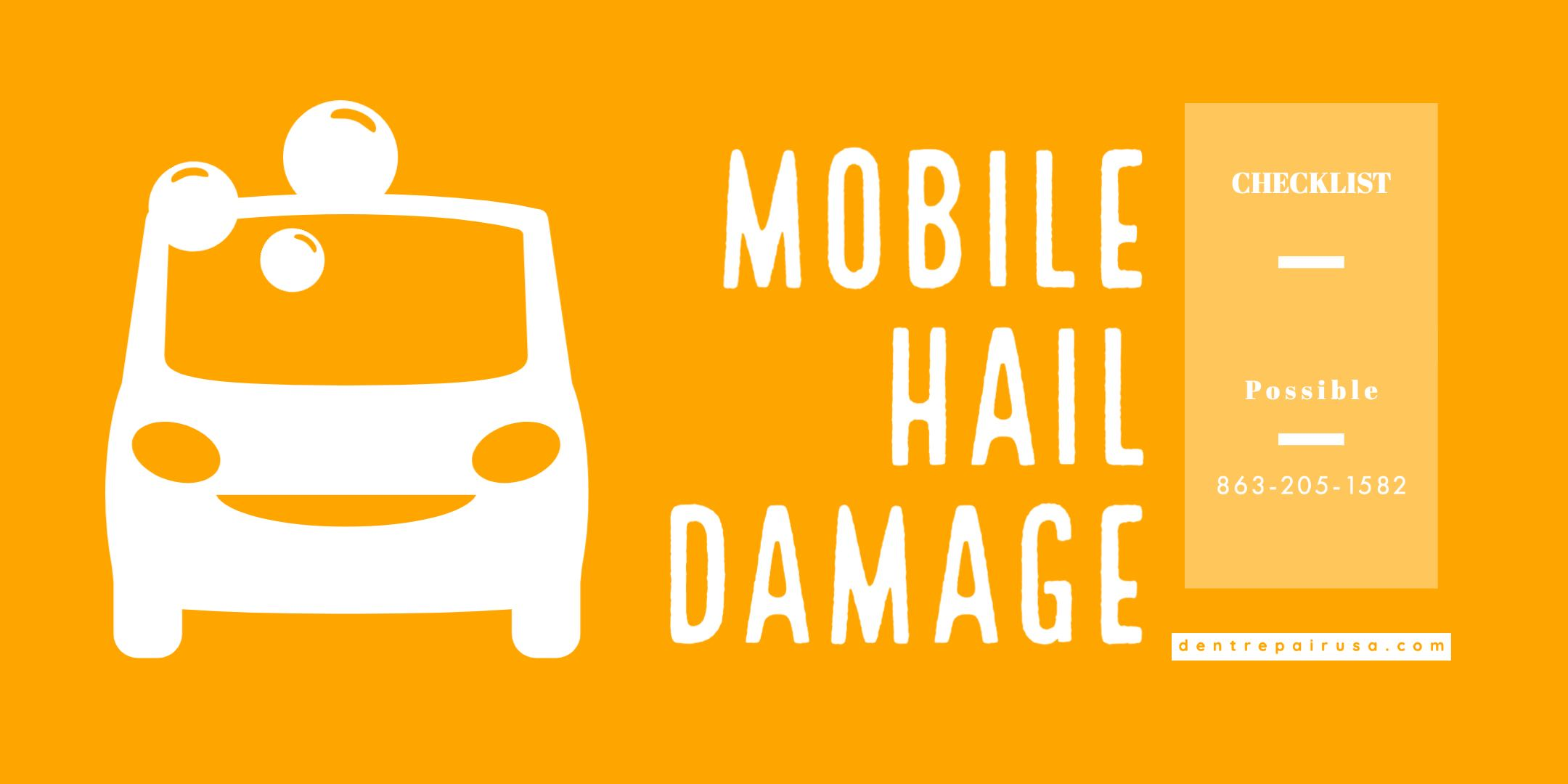 Mobile Hail Damage