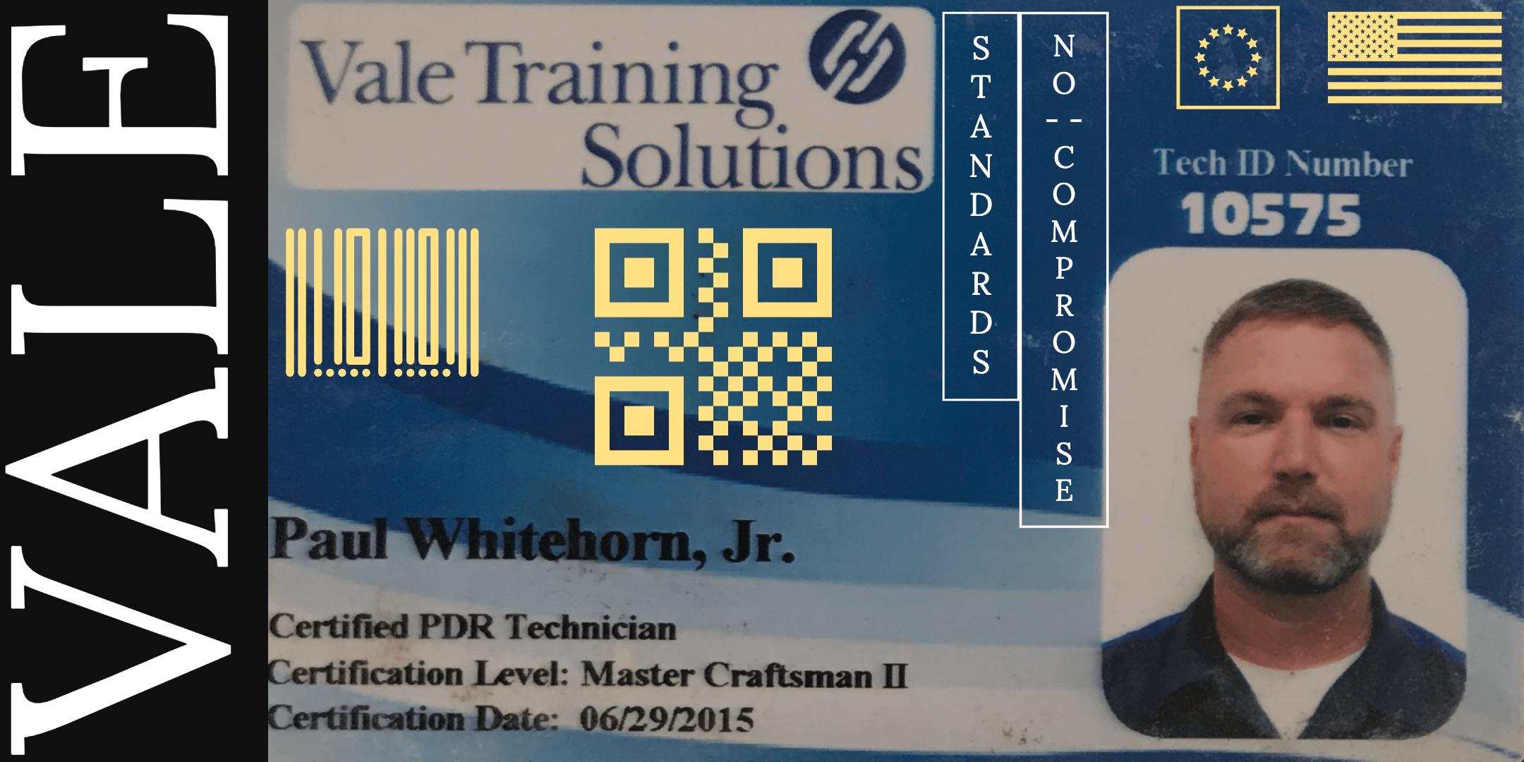 Vale Certification